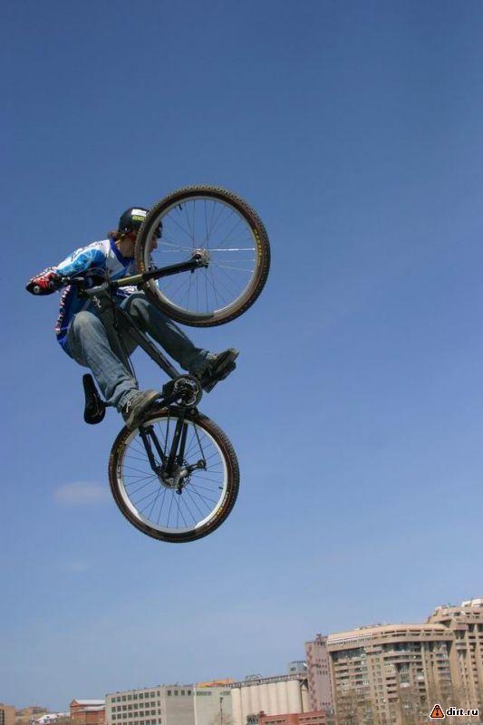 Трюковой велоспорт в Ярославле.